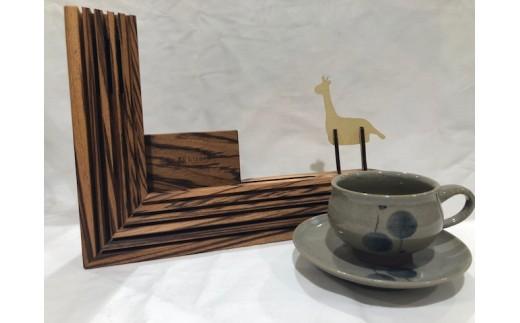 Kirari音楽セット(KICOELEルーバー<スピーカー>コーヒー碗皿 風船文、組立キット きりん)