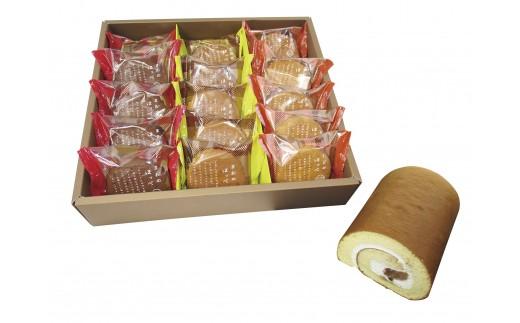 A-36 もりんのお菓子の詰め合わせ④五岳山ロール&まおのほっぺ