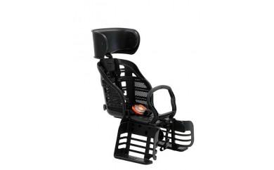 自転車用ヘッドレスト付きデラックスリヤチャイルドシート ブラック RBC-007DX3