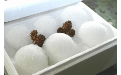 真夏に雪だるまをお届け!!