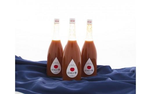 15-36 無添加・無塩 日向育ちの100%フルーツトマトジュース720ml 3本セット(日向の雫)