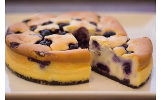 010-1101 高砂産フレッシュブルーベリーのチーズケーキ