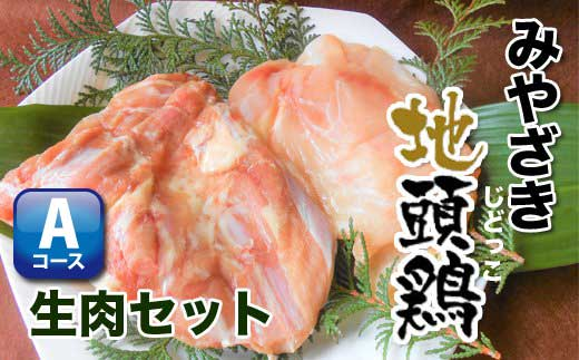 U-A1 【みやざき地頭鶏 生肉セット】