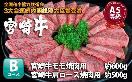 S-9【宮崎牛焼肉セット】厳選したこだわりA5等級