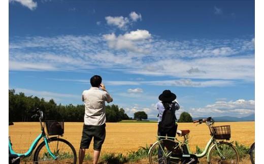 [030-41]美瑛の丘 ガイド付きサイクリングツアー(1日)