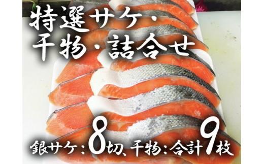 a10-235 特撰銀サケ・干物・詰合せ