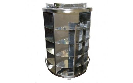 組み立て式アウトドア用バイオマスコンロ