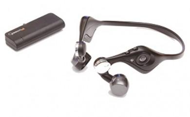 [№5676-0325]ワイヤレスみみもとスピーカーシステム ES-600GT 黒