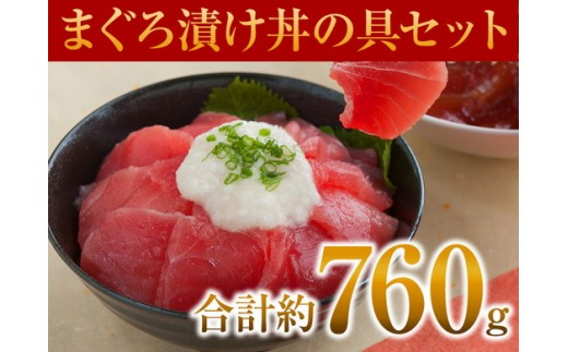 a10-006 マグロ漬丼の具セット