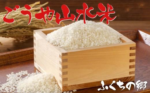 D14-14 農産物直売所ふくちの郷「ごうや山水米(夢つくし)」20kg