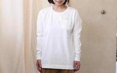 [№5786-2226]HUIS×yohaku長袖カットソー(白)