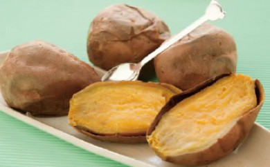 安納芋1kgと紅はるか1kgの冷凍焼いもセット