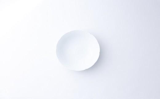 有田焼/中村清六/白磁艶消鉢