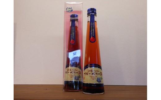 590 北の庄 蔵元造り 和リキュール「ブルーベリー酒」