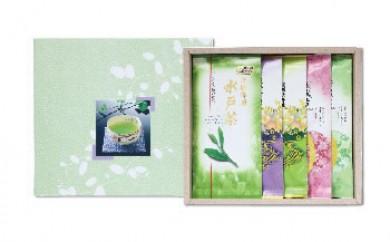 【敬老の日ギフト】◆お茶通御用達!茨城三大銘茶5本詰合せ