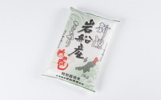 E204 特別栽培米岩船産コシヒカリ 50㎏(5kg×10ヶ月コース)