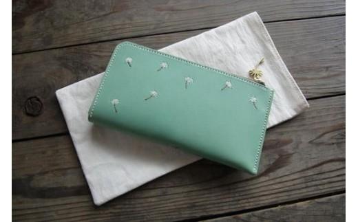 【ふるさと納税特製】刺繍の革財布