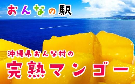 【2019年発送】おんなの駅 完熟マンゴー2kg入り家庭用(恩納村産)
