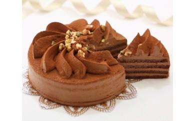 口どけなめらか生チョコケーキ フラワーショコラ 北海道のチョコレートケーキ