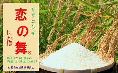 [№5685-1005]恋の舞 ササニシキ12.5kg 特別栽培米基準