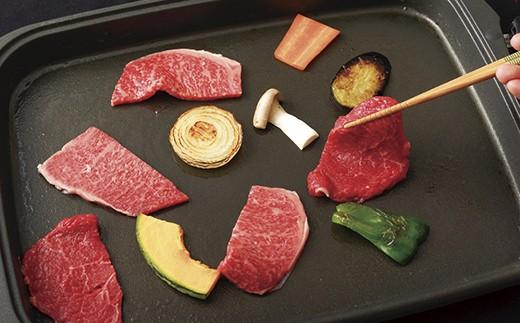 S160 長崎和牛ヘルシーカルビ焼肉(400g)【600pt】