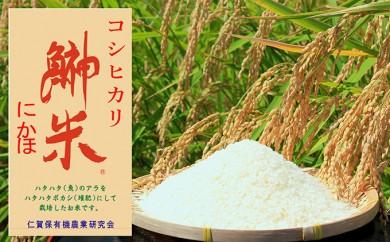 [№5685-1006]はたはた米 コシヒカリ12.5kg 特別栽培米基準