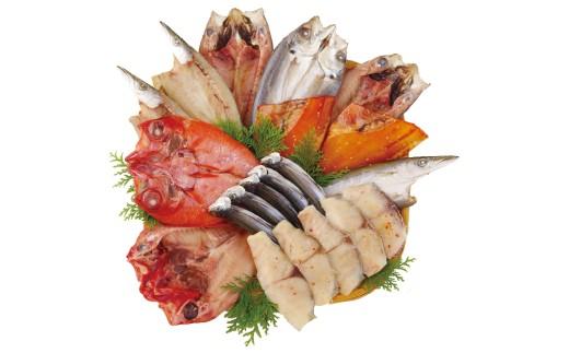 人気干物を詰め合わせた逸品!脂がのっており食べやすく、美味と評判です。