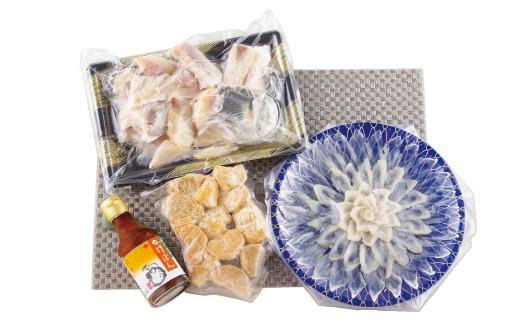 寒い時期に最適の絶品、九十九島とらふぐ鍋