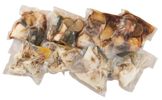 九十九島の活鯛・活ぶりの旨味を上手に引き出して贅沢な煮魚、焼魚にしました