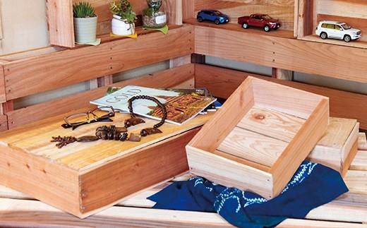 X142 DIY木箱(大)5箱セット【400pt】
