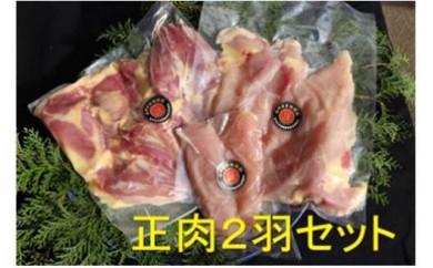 みやざき地頭鶏 正肉2羽セット