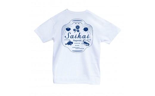 """A-71""""SAIKAI""""Tシャツ"""