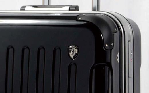 X155 PC7000スーツケース(MSサイズ・ナイトブラック)【1,000pt】