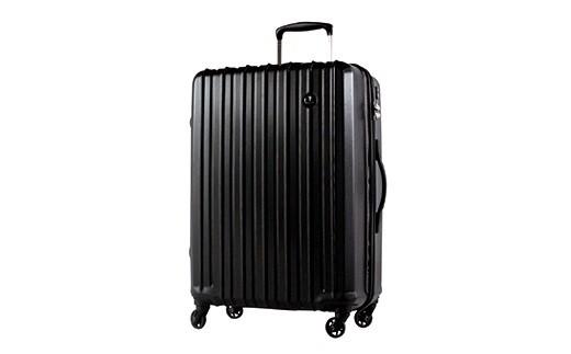 X166 PC7258スーツケース(Sサイズ・ジェットブラック)【800pt】