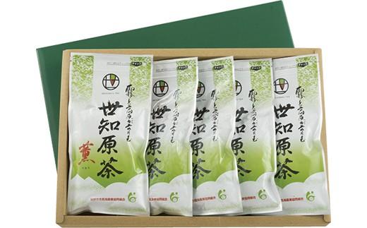 冷涼で高品質なお茶が育つ最適な地域でとれた世知原茶です