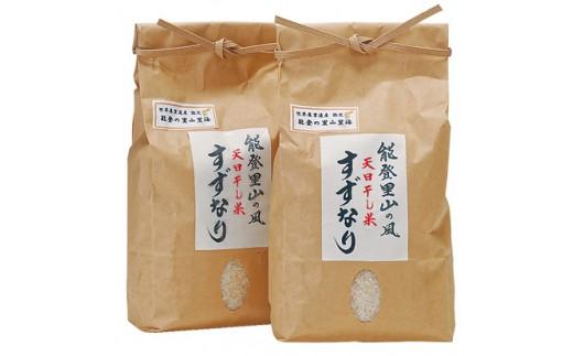 【A021】天日干し米すずなり