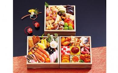 [№5991-0704]大阪 日本料理 大金樓 「奏慶」 三段重