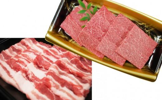 53-R08_鹿児島県産薩摩牛焼肉&南国スイート豚バラ焼肉セット
