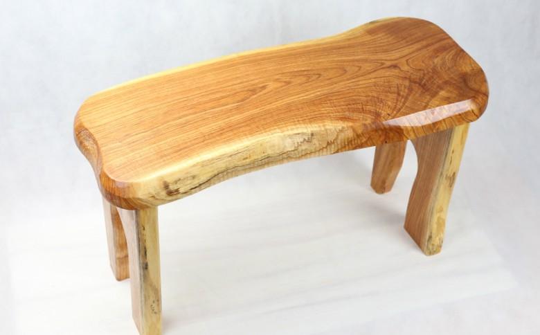 【家具職人が天然木で作りあげた】原木椅子