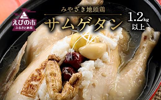 みやざき地頭鶏サムゲタン【1.2kg以上】