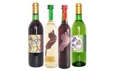[№5900-0197]琵琶湖ワイン4本セット