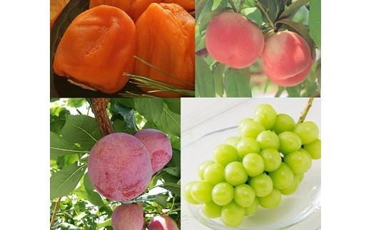 5-1-7 南アルプス天空舎が贈る「南アルプス四季の甘い果実4品」1