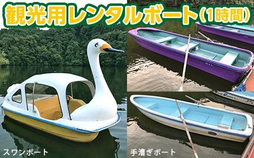 亀山湖 観光用レンタルボート共通利用券