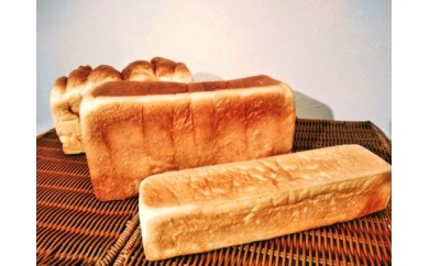 人気の定期便:数量限定30セット!『北海道産小麦の人気食パン・食べ比べ3本セット』3か月間お届け!