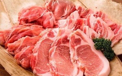 36-27_綾ぶどう豚食べ尽くしセット+ぶどう豚ハンバーグ