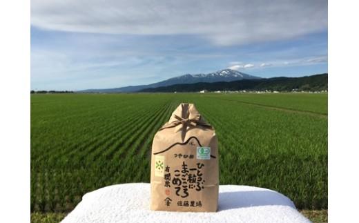 NA420 平成30年産 有機栽培米 つや姫 3kg YU