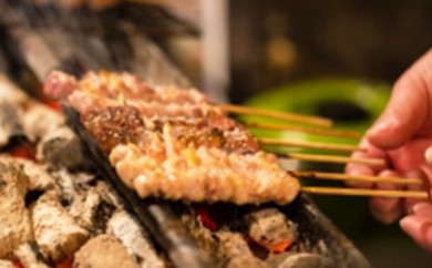 [№5895-0169]広島熟成どり 広島県産もも串 50本(生肉冷凍)