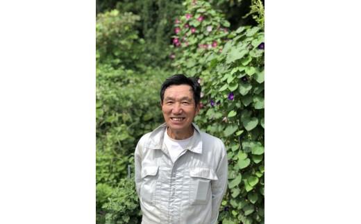A0135 有機たい肥を使い減農薬栽培したこだわりのお米「郷土」300g×10個