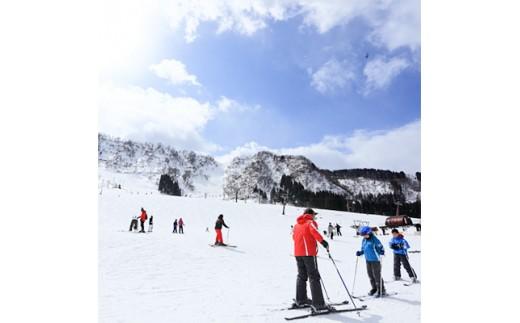 スキー場シーズン券(一里野)【1037360】