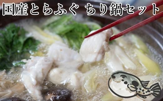 朝〆新鮮!とらふぐ贅沢ぶつ切り ちり鍋セット(4人前)570g